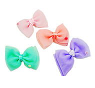 Hair Accessories for Dogs / Cats Red / Pink Spring/Fall Mixed Material / Aluminum