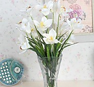 3 Head High-quality Simulation East Asia Orchids