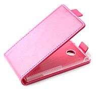 Fashion Leather Flip Case Cover for Nokia X Smartphone 3-color
