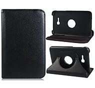 """360 gradi di rotazione strutturato caso di vibrazione in ecopelle per Samsung Galaxy Tab 3 lite t110 7 """"Tablet PC (colori assortiti)"""