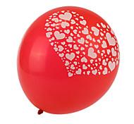 очень большой размер красные толстые сердце разбито круглые шары - набор из 24