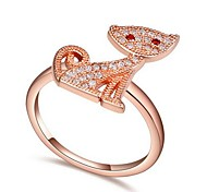 AAA Mosaic Zircon Ring - A Kitten
