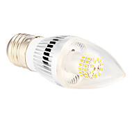 Lâmpada Vela E26/E27 4 W 280 LM 2500-3500 K Branco Quente 50 SMD 3014 AC 220-240 V C