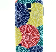 Sun Flower Pattern TPU Soft Case for S5 I9600