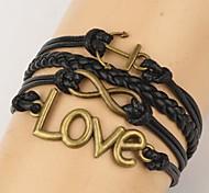shixin® européen ancrage millésime chanceux huit bracelets amour d'emballage (1 pc)