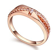 AAA Mosaic Zircon Ring - Eternal Love