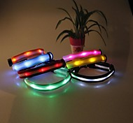 Stylish Adjustable Luminous collars for Pets Dogs (Assorted Size,Assorted Color)