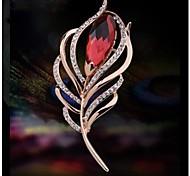 Fashion Diamond High-grade Shawl Button Brooch (1pc)