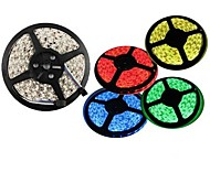 Waterproof 5M 150X5050 SMD Warm White Red Green Blue Yellow LED Strip Light (DC12V)