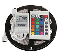 5m 300x5050 SMD RVB LED Light Strip avec télécommande 24key (DC12V)
