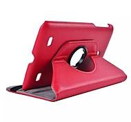 dengpin® PU-Leder 360 Grad drehbaren Standfuß Abdeckungsfall für LG g Pad 7.0 v400 7 '' Zoll-Tablet (farblich sortiert)