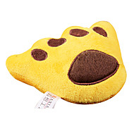 Footprints Shaped Plush Toy For Pet Dogs(Random)