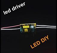 Conductor de la energía 10pcs 4-7w de bombilla led (CA 85-265V)