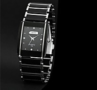 Unisex Square Dial Alloy Band Quartz Fashion Watch (Assorted Colors) Cool Watches Unique Watches