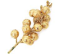 5pcs nochi 13cm paillettes fourche d'arbre de noël décorations (couleur assorties)