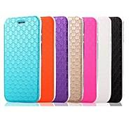 iphone 7 plus de 5,5 pouces motif ling plaid étui en cuir PU avec support pour iPhone 6s 6 plus