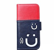 Smiling Face Pattern Full Body Cover for iPhone 6 Plus