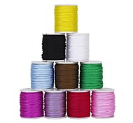 DIY Nylon Jewellery Rope Mixed Color(10Pcs)
