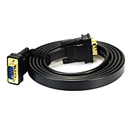 2m vga 6.56 pies macho a pc-tv video cable de conexión del monitor vga hd masculino