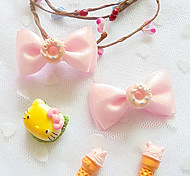 Lovely Flower Pattern Bow Style Hair Accessories for Pets Dogs