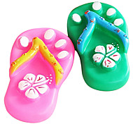 Slipper Shaped Chewing Toy For Pet Dogs(Random Colour)