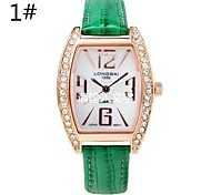 Women's Analog Square Leather Fashion Watches (Assorted Colors) Cool Watches Unique Watches