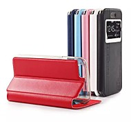 nouvelle Smart Cover en cuir flip de luxe pour iPhone 6 (couleurs assorties)