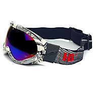 HB Black & White Frame Protection Wind & Snow Goggles