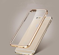 Bumper + Transparent Back Case Cover for iPhone 6/6S(Assorted Colors)