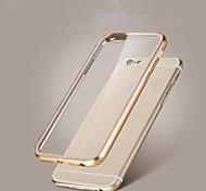 paraurti + copertina fondello trasparente per iPhone 6 / 6s (colori assortiti)