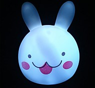 Colorful Rabbit Head  Night Light
