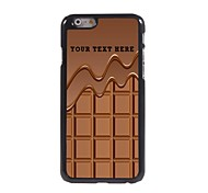 Personalized Phone Case - Chocolate Design Metal Case for iPhone 6