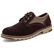 Men's Shoes Comfort Flat Heel Calf Hair Oxfords More Colors available