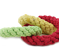 Colourful Three-Loop Shaped Toys For Pet Dogs