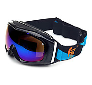 HB Black Frame Double Lens Anti UV Snow Googgles