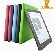 Shy Bear™ Litchi Style Slim Smart PU Leather Cover Case for Kobo Aura 6 Multi Color