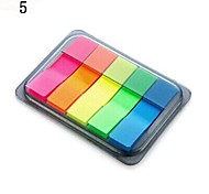 Self-Stick Notes Portable Notepaper Box(Random Color)