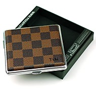 Personalized Father's Day Gift Grid Cigarette Metallic Leather  16 (Cigarette)