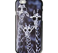 Three Giraffes Pattern Hard Case for iPhone 6