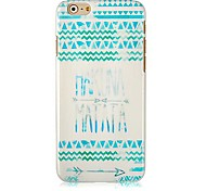 National Style Pattern Hard Back Case for iPhone 6