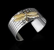 Woman's Fashion High Quality  Dragonfly Cuff Bracelet