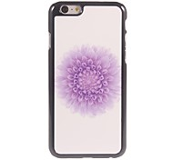 Mini Flower Design Aluminium Hard Case for iPhone 6