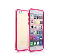 Two Mixed Colors with Transparent Middle Bumper Frame Case for iPhone 6(Assorted Colors)