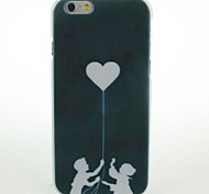 Black Love Child Pattern Hard Case for iPhone 6