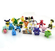 pokemon 24pcs 2-3cm mini-pvc figura de ação set (cores aleatórias)