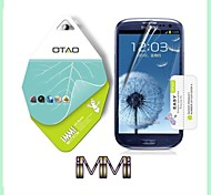 Use Japan PET Nano Material Curved Protective HD Screen Protector for Samsung Galaxy S3 i9300 (IMMI)