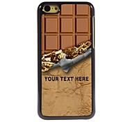 Personalized Phone Case - Sweet Chocolate Design Metal Case for iPhone 5C