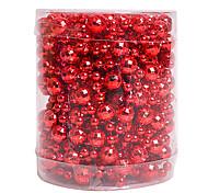 esferas / nochi 5m pingentes bola vermelha ornamentos decorações de natal feriado suprimentos cena