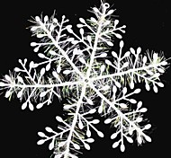 15PCS Christmas Decoration White Snowflake Ornaments 11CM