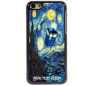 Personalized Phone Case - House and Tree Design Metal Case for iPhone 5C